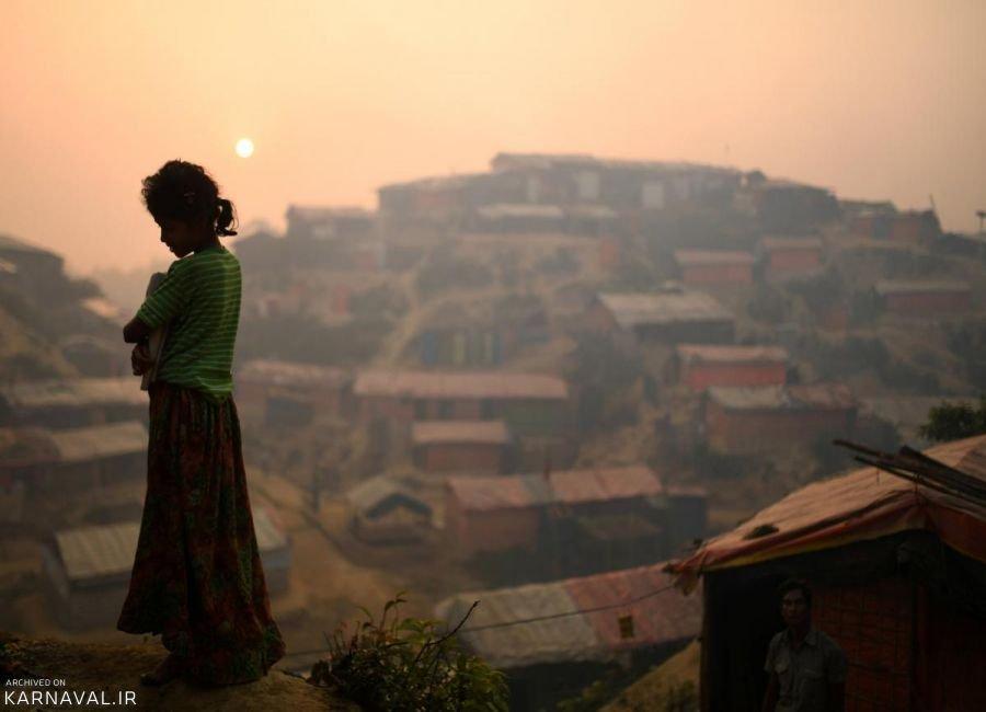 عکس های پناهندگان روهینگیایی در بنگلادش