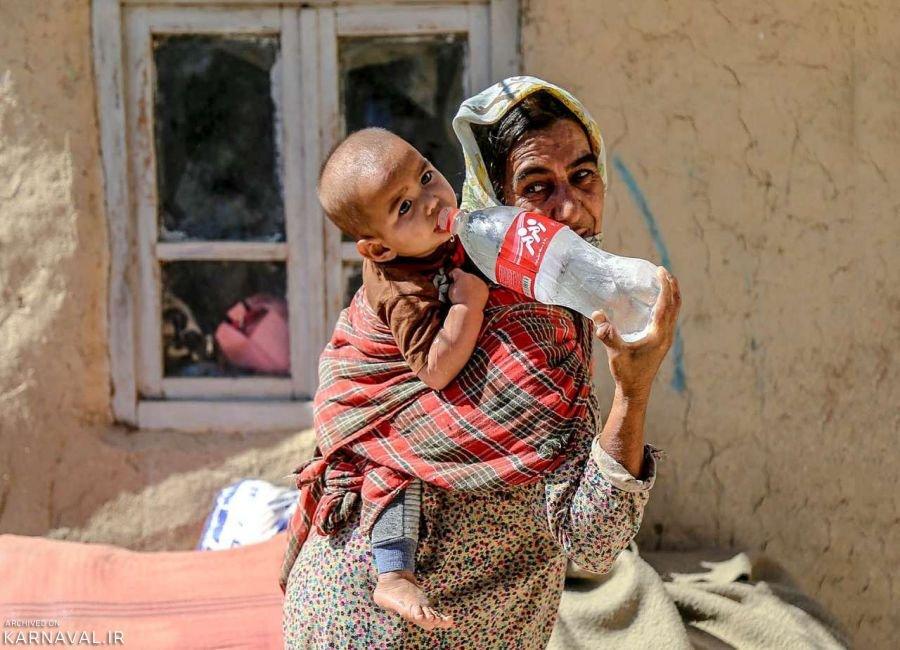 تصاویری از بحران آب در خراسان شمالی