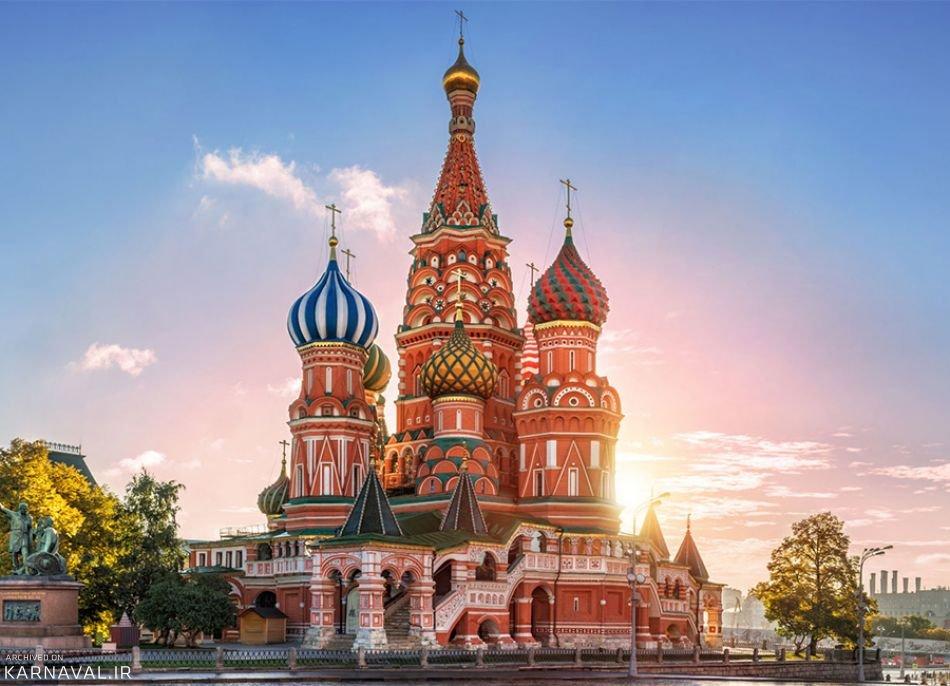 هزینه های سفر به مسکو
