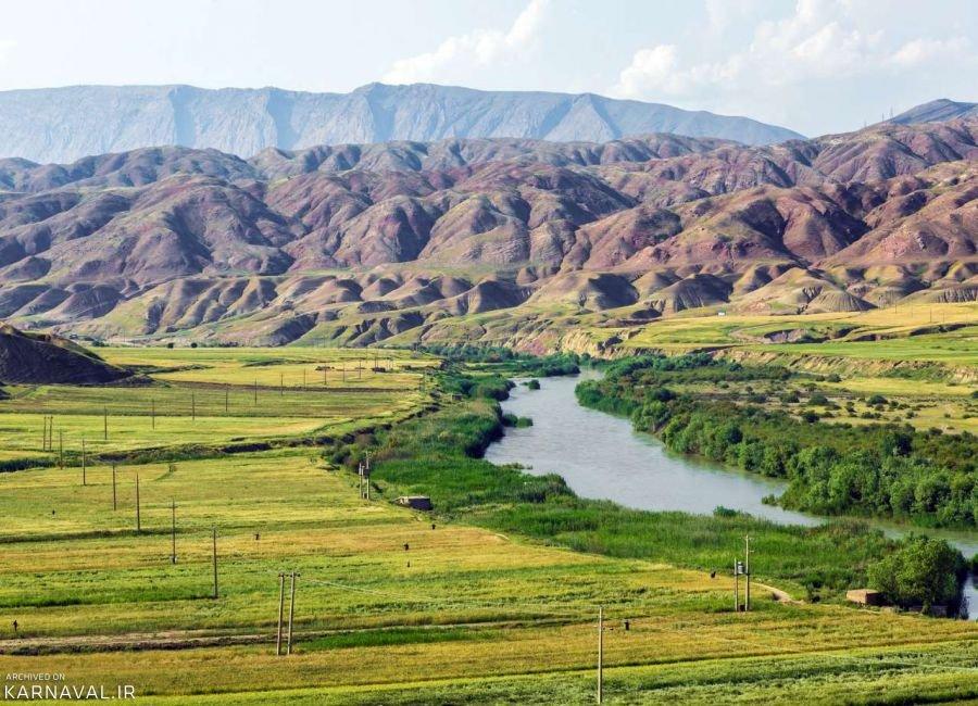تصاویری از طبیعت دره شهر ایلام