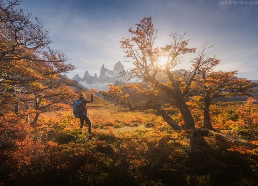 پاییز در پاتاگونیا