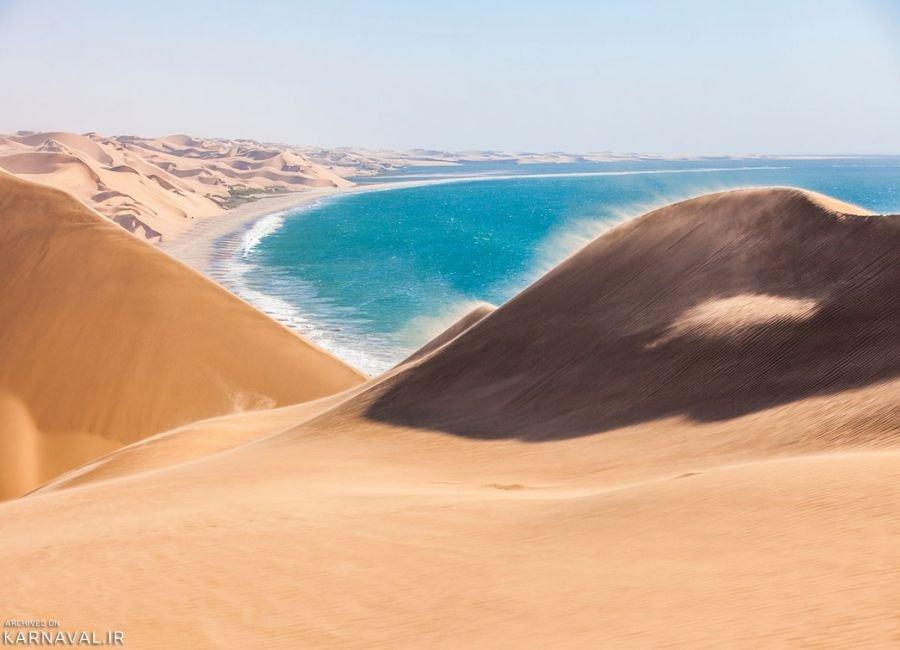 تصاویری از سواحل نامیبیا