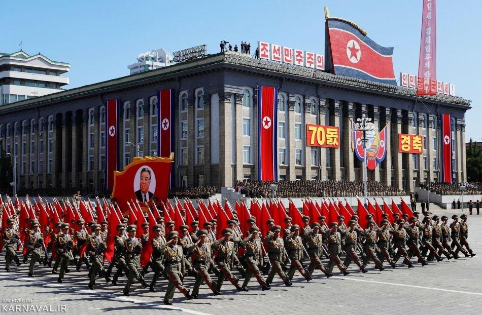 تصاویری از هفتادمین جشن استقلال کره شمالی