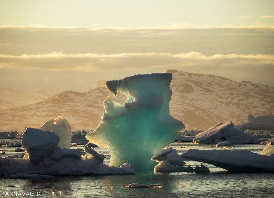 تصاویری از سرزمین یخ زده گرینلند