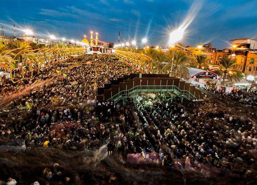 عزاداری حسینی در کربلا