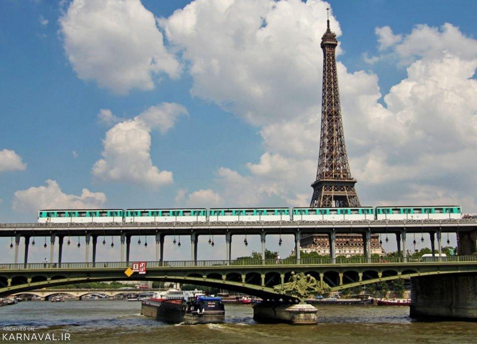 حمل و نقل عمومی پاریس