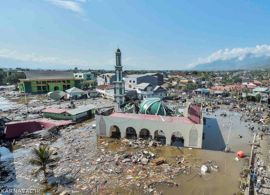 تصاویری از سونامی اندونزی