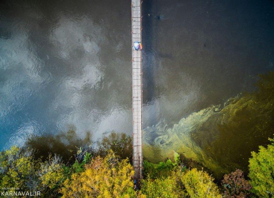 عکس های هوایی از پاییز روسیه