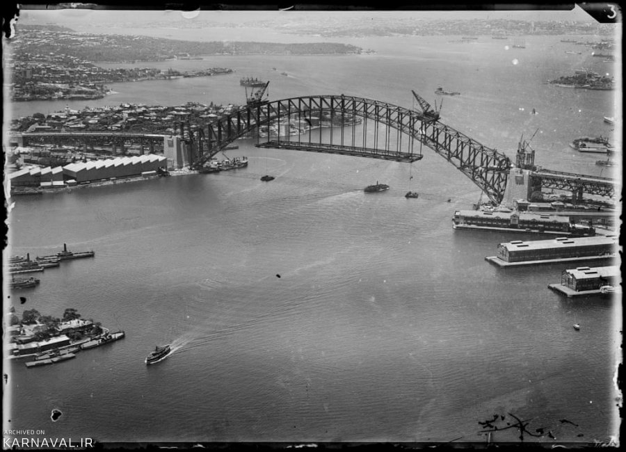عکس های هوایی قدیمی از سیدنی