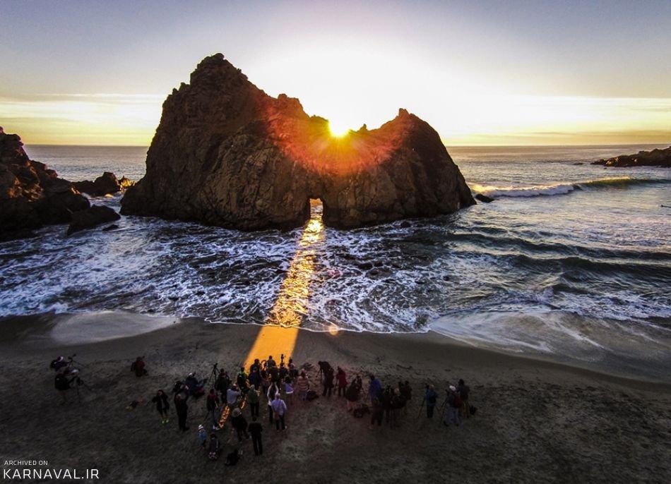 تصاویر هوایی از ایالت کالیفرنیا