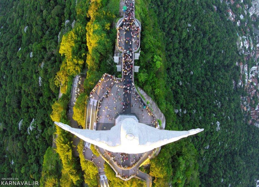 عکس های هوایی برزیل