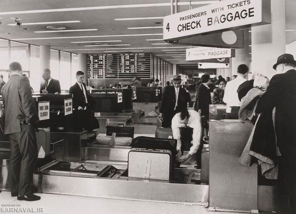 تصاویر تاریخی از فرودگاه بین المللی لس آنجلس