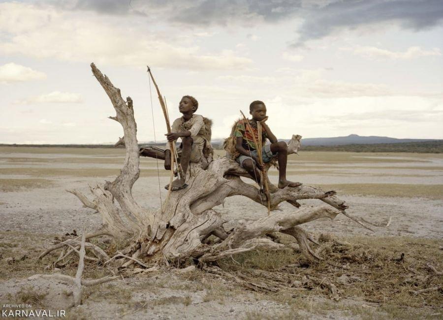 تصاویری از قبیله هادزا در تانزانیا