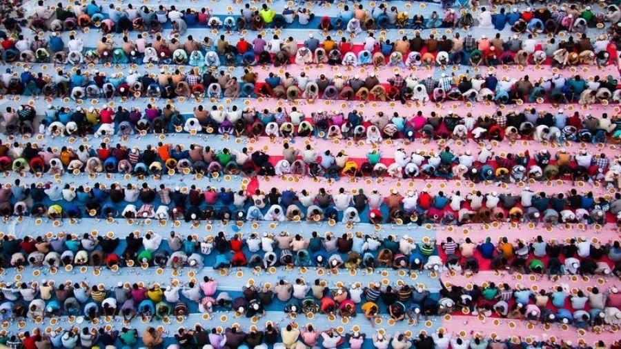 مراسم افطار در دبی