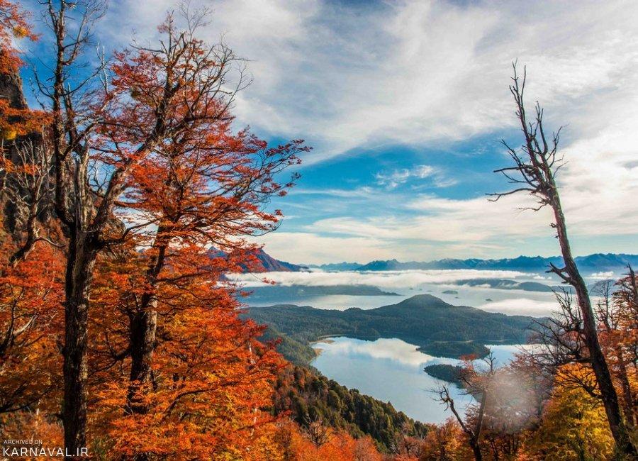 عکس های پاییزی پاتاگونیا