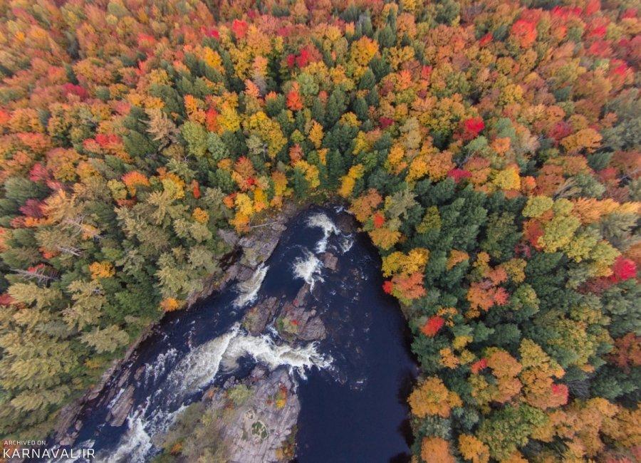 عکس های هوایی کانادا