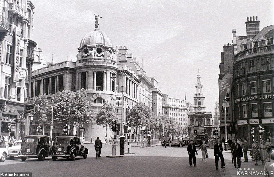 تصاویر تاریخی از شهر لندن