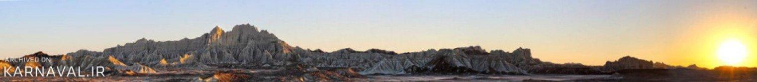 کوه های مریخی چابهار