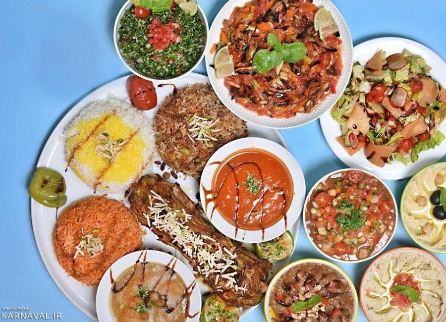 رستوران های بین المللی بام لند دریاچه چیتگر