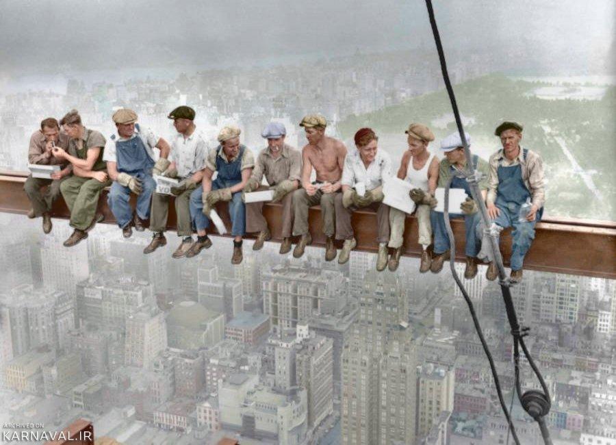 تصاویر تاریخی نیویورک