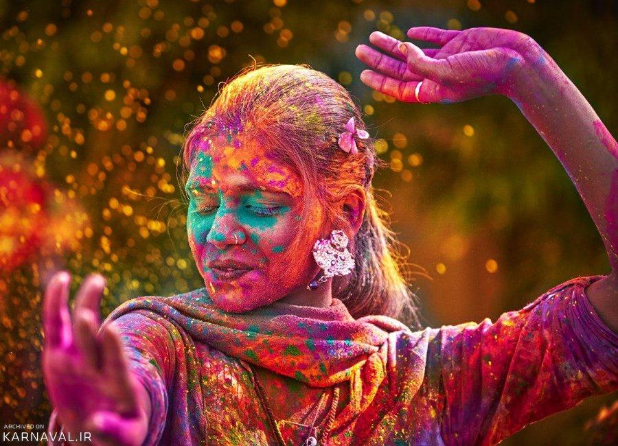 هولی ، جشن رنگ ها در هند