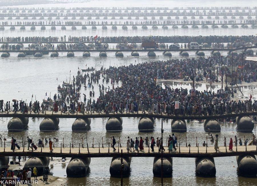 تصاویری از بزرگترین تجمع هندوها در کشور هند
