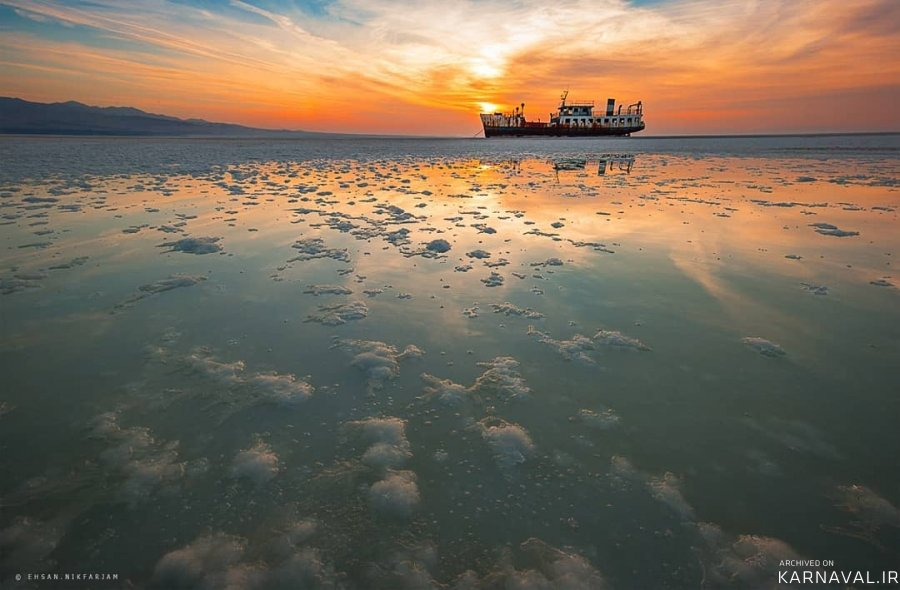 مرگ دریاچه ارومیه
