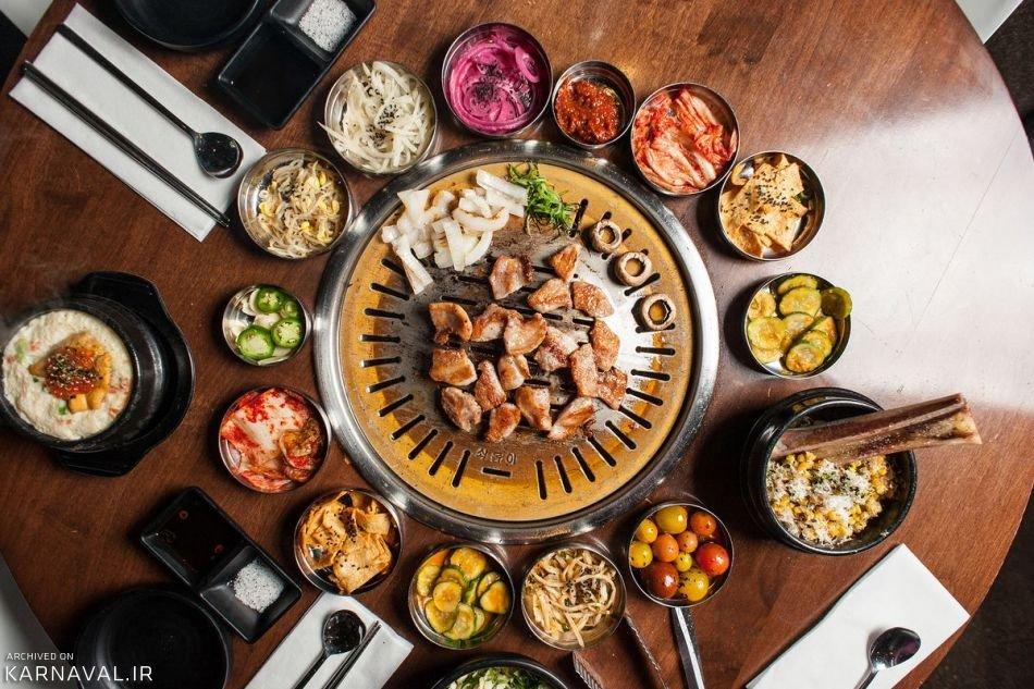 معروف ترین غذاهای کره جنوبی