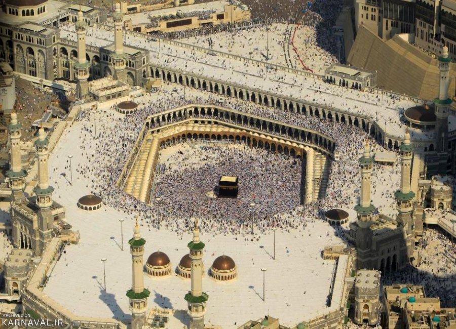 تصاویر هوایی از مکه