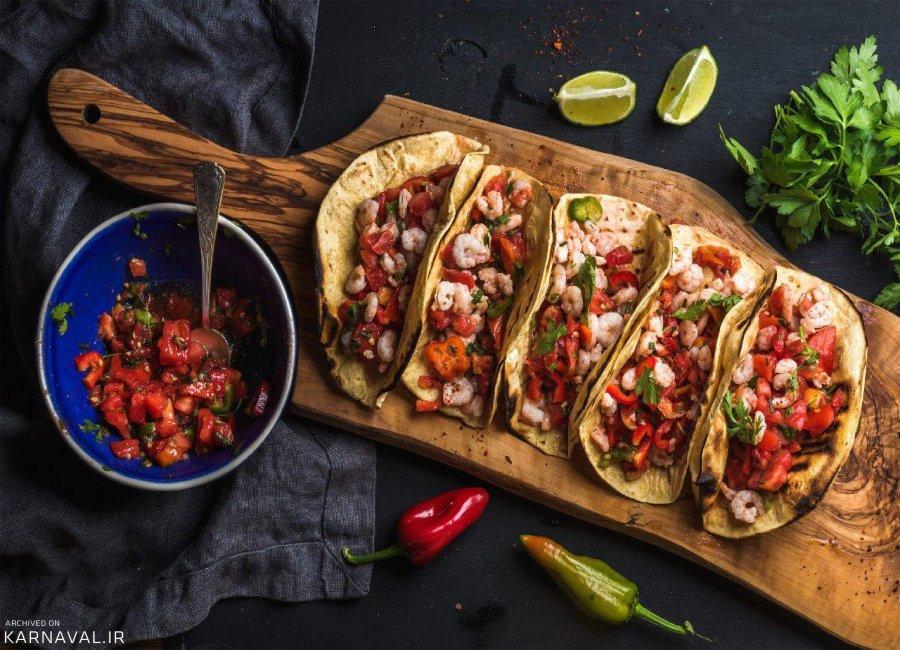 بهترین و معروف ترین غذاها و خوشمزه های مکزیکی