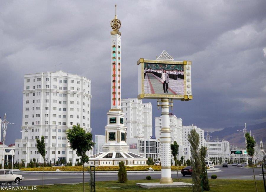 تصاویری از عشق آباد ترکمنستان