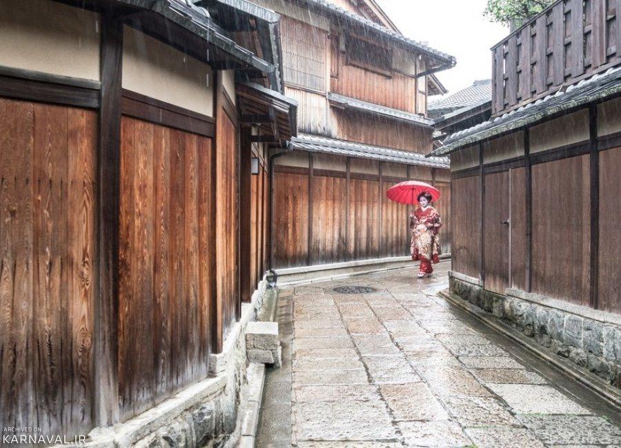 عکس هایی از کیوتو