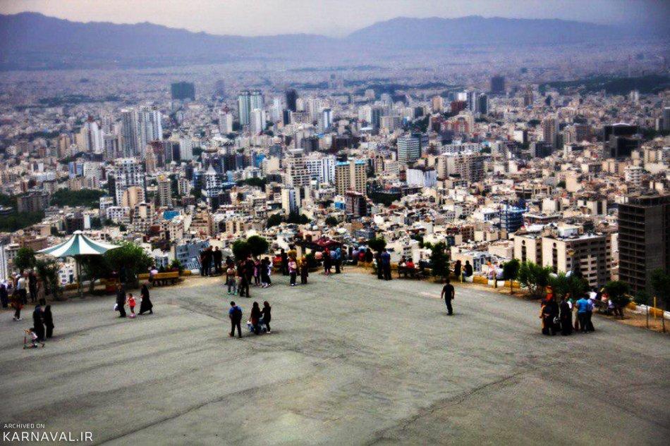 عکس های بام تهران