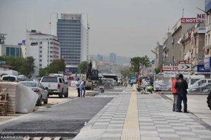 خیابان کاظم کارابکیر شهر وان ترکیه