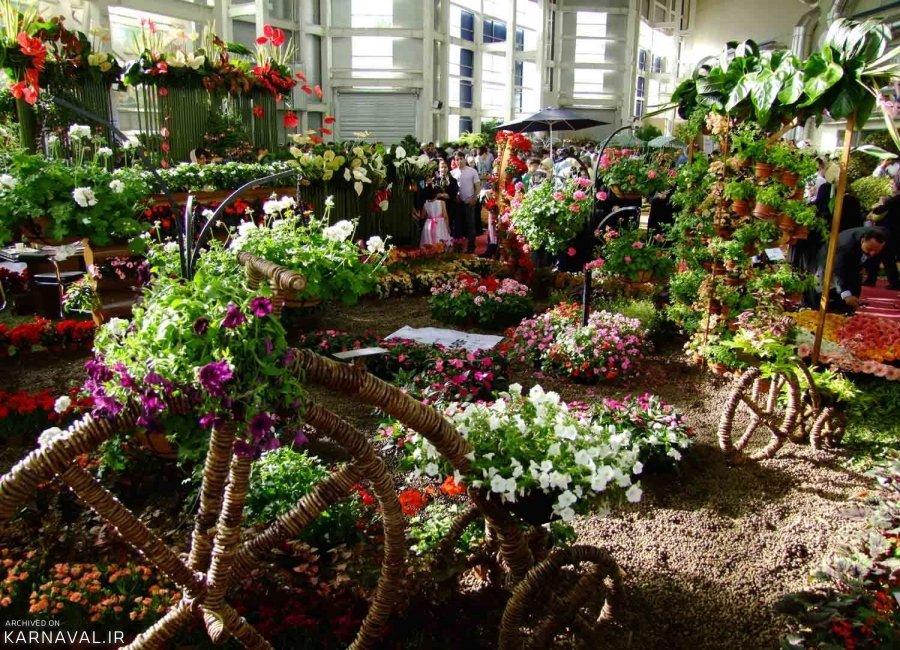 افتتاح هفدهمین نمایشگاه بین المللی گل و گیاه تهران