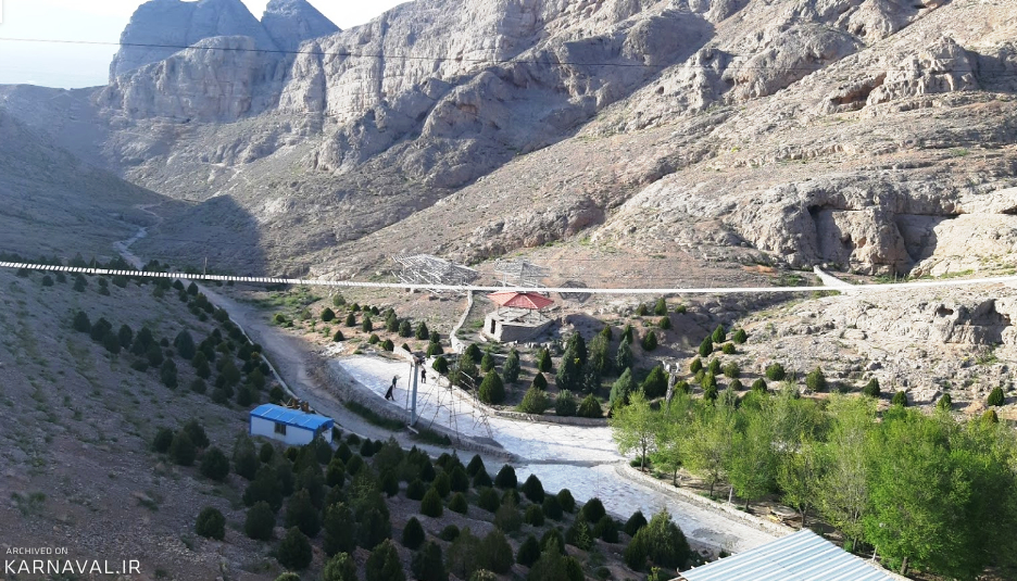 زیپ لاین کوه صفه اصفهان | آدرس ، عکس و معرفی (1399) ☀️ کارناوال