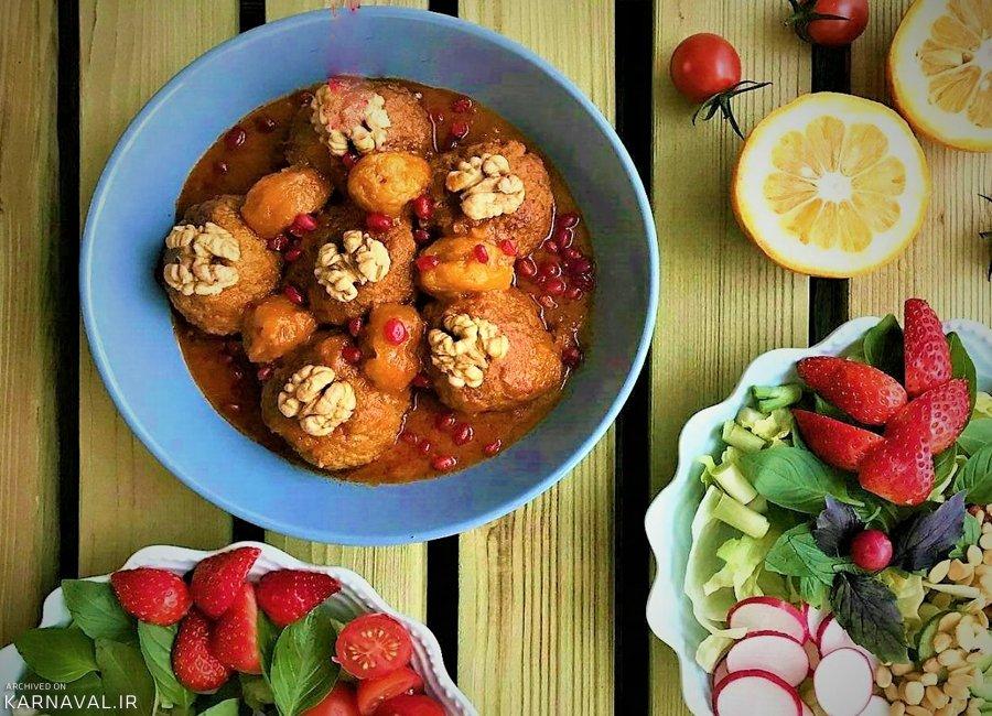 غذاهای سنتی همدان