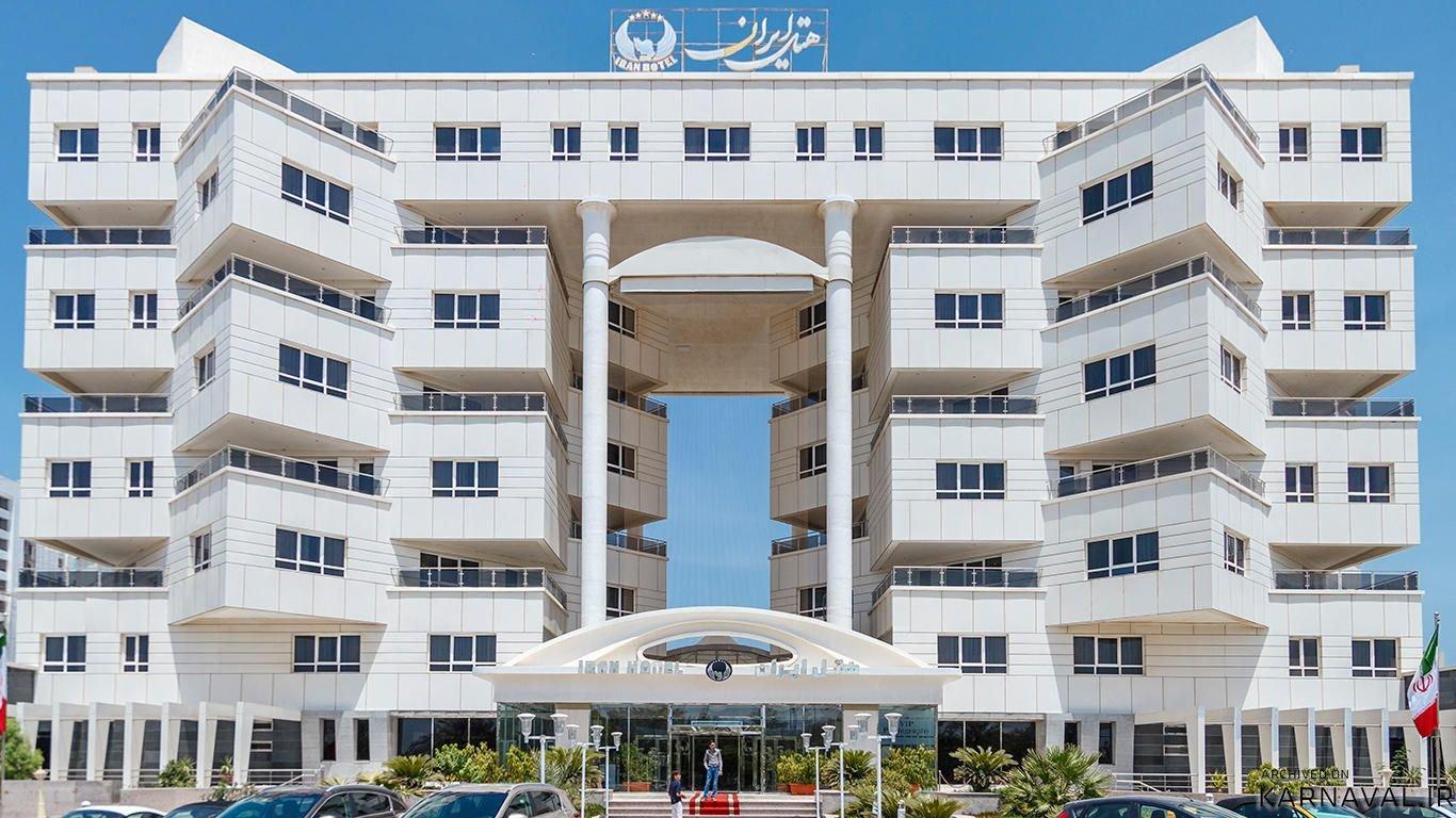 هتل ایران کیش نمای بیرونی