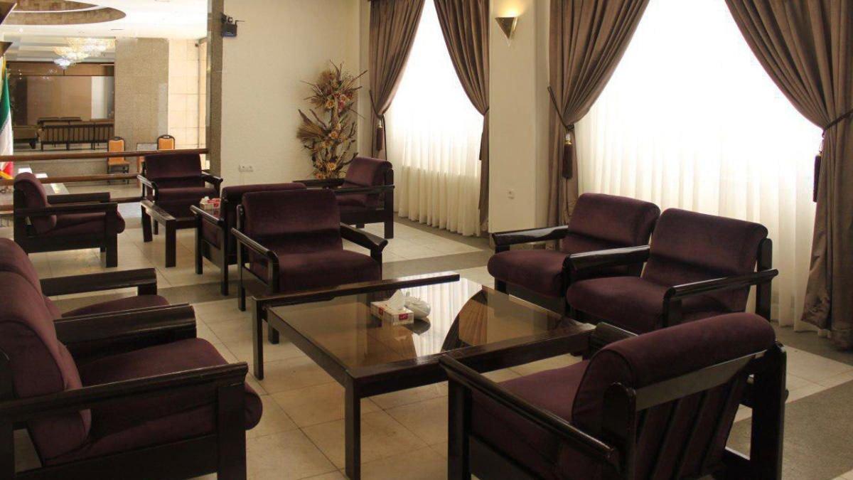 هتل فردوسی مشهد لابی