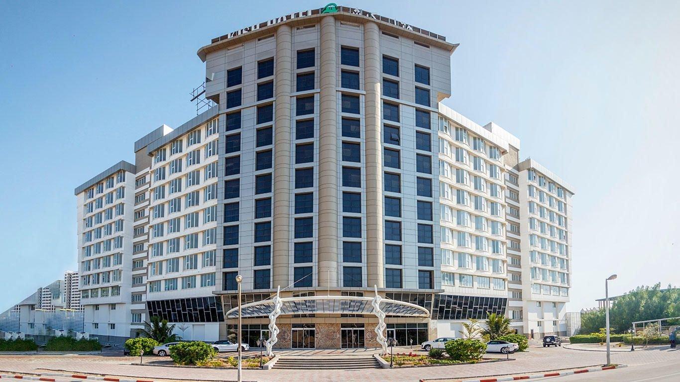 هتل بین المللی کیش نمای بیرونی