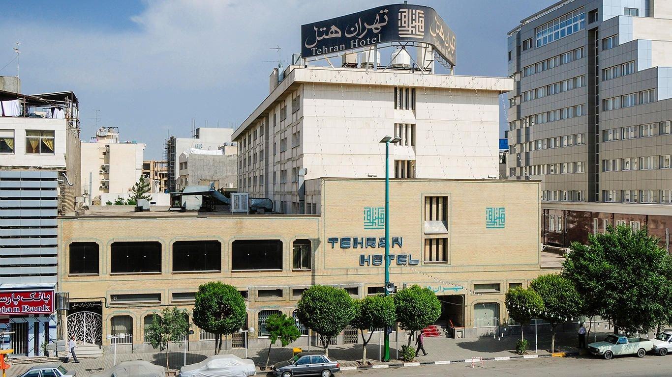 هتل تهران مشهد نمای بیرونی 2