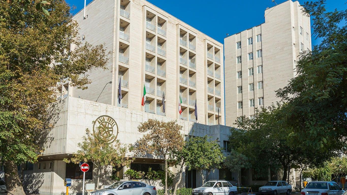 هتل آسیا مشهد نمای بیرونی