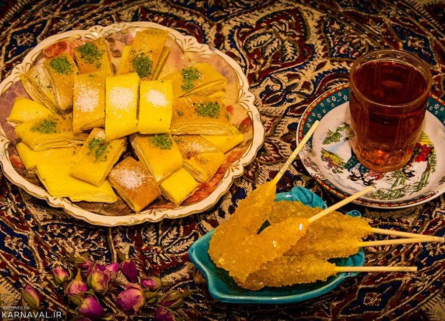 شیرینی های سنتی کرمانشاه