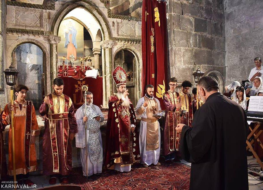 آیین زیارت کلیسای تادئوس مقدس