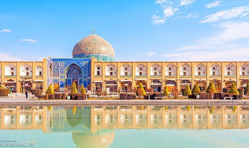 شیوههای مرمتی و حفاظت گنبد شیخ لطف الله تایید شد