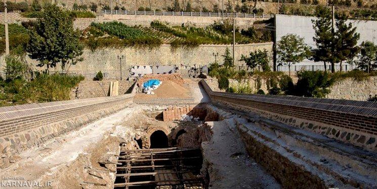ریزش مجدد پل تاریخی خاتون کرج تکذیب شد