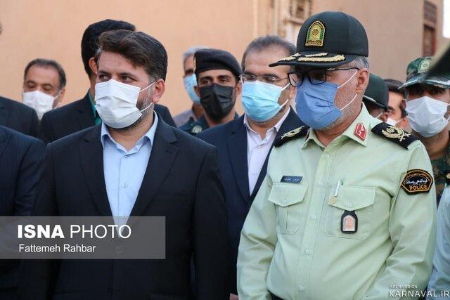 پلیس توریسم در بافت تاریخی یزد